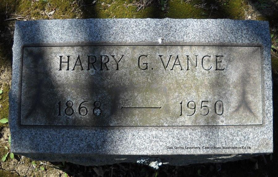 Harry Grant Vance