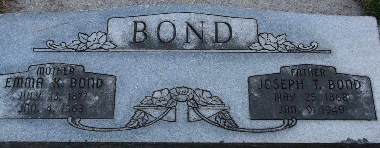Joseph Thomas Bond