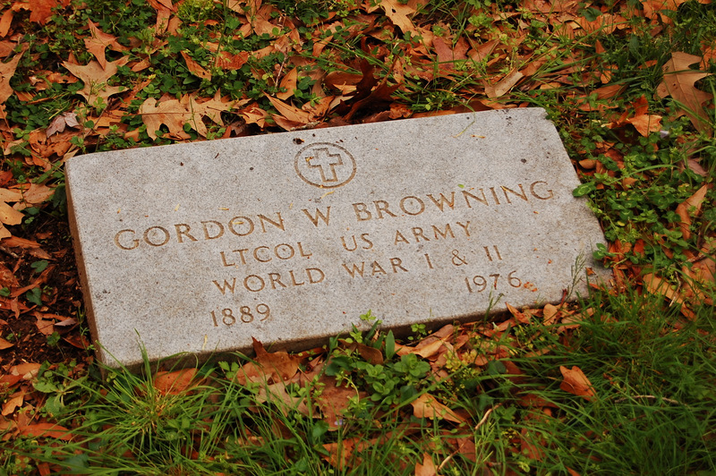 LTC Gordon Weaver Browning