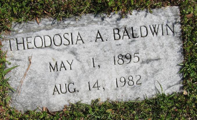 Theodosia <i>Andrews</i> Baldwin