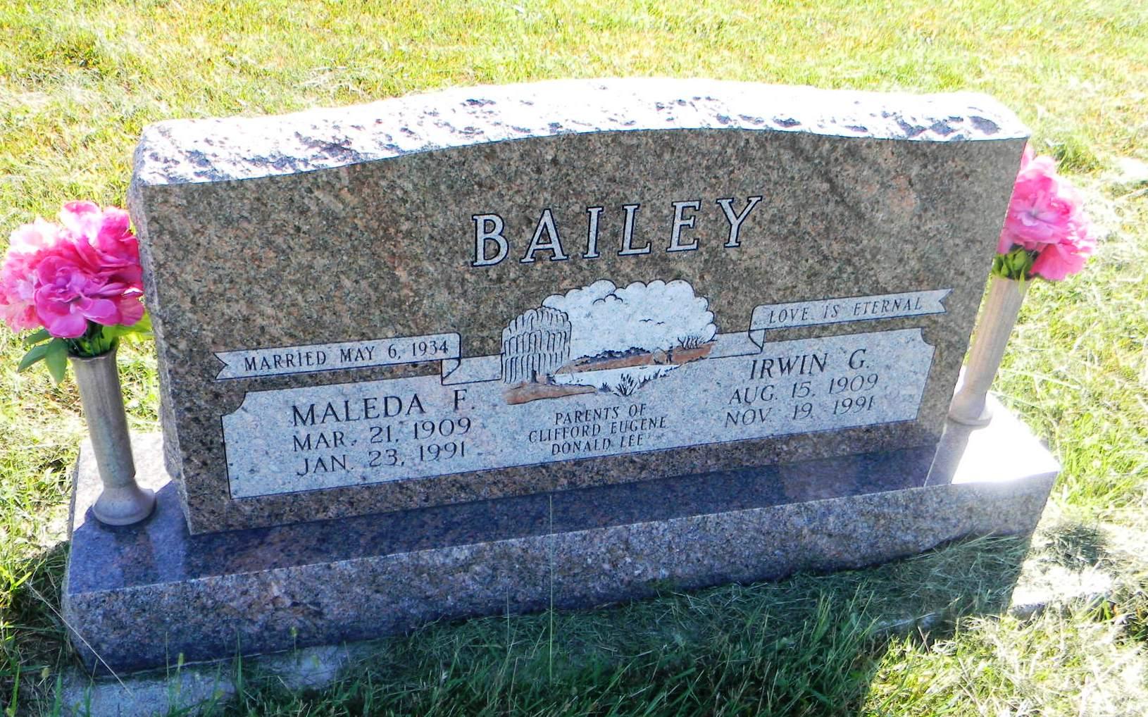 Maleda Freda <i>Katz</i> Bailey