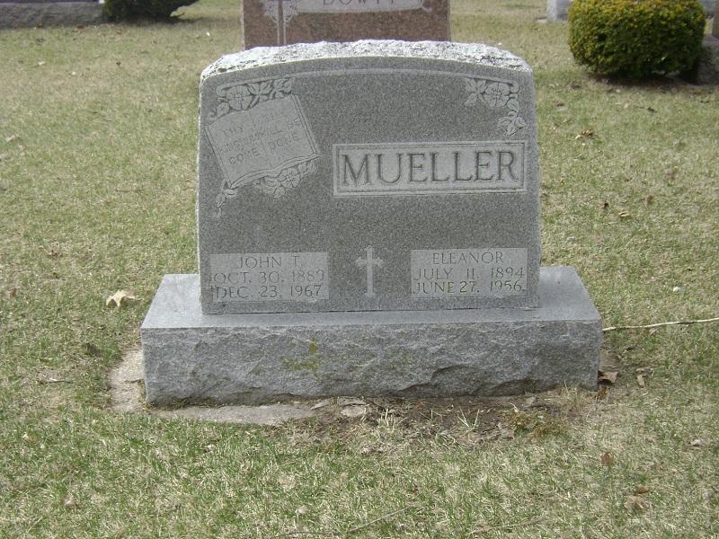 Eleanor Marie <i>Bath</i> Mueller