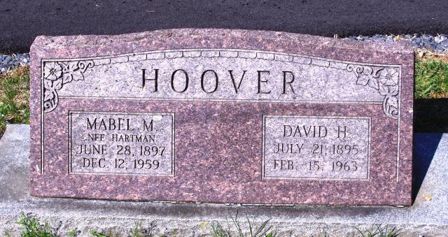 Mabel May <i>Hartman</i> Hoover