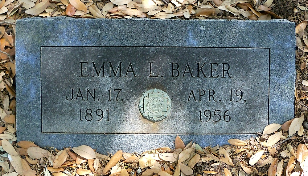 Emma Lavinia <i>Massey</i> Baker
