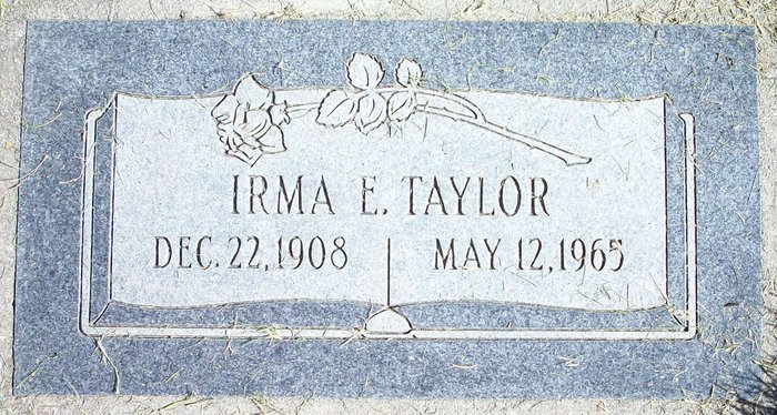 Irma E Taylor