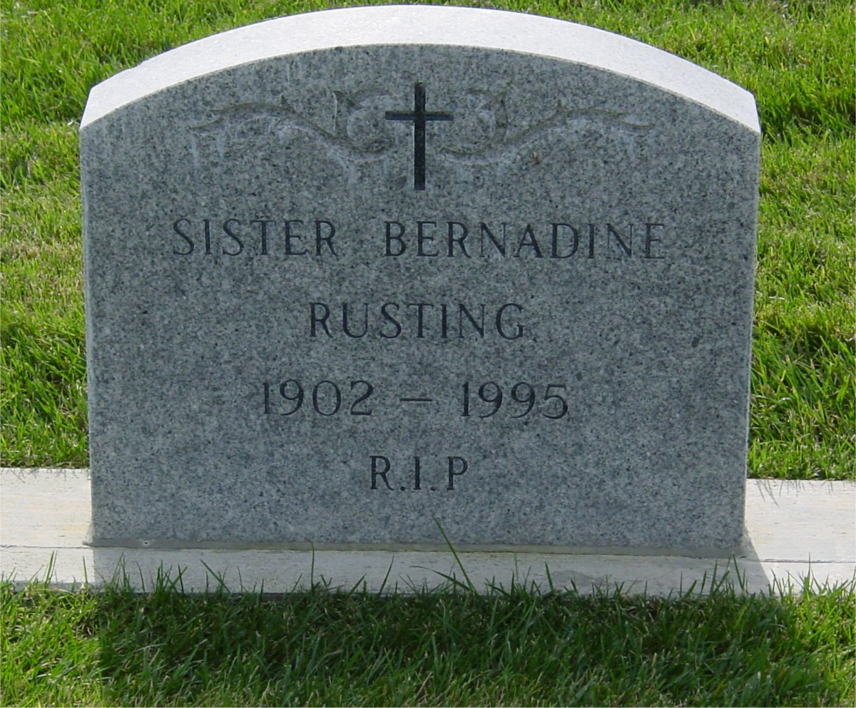 Sr Mary Bernadine Rusting