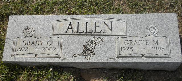 Gracie Mae <i>Walker</i> Allen