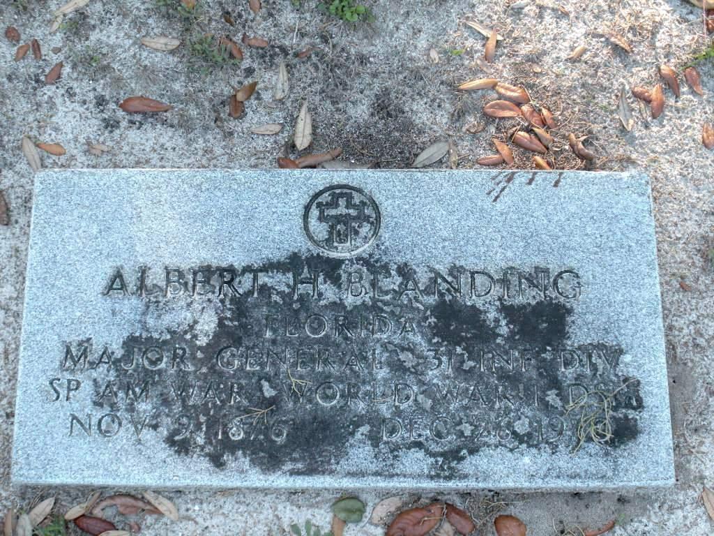 Albert Hazen Blanding