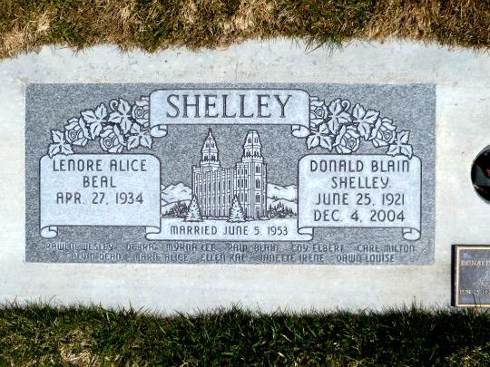 Donald Blain Blain Shelley
