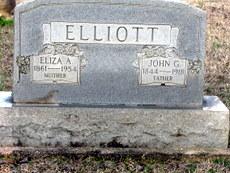 Eliza Ann <i>Thomas</i> Elliott