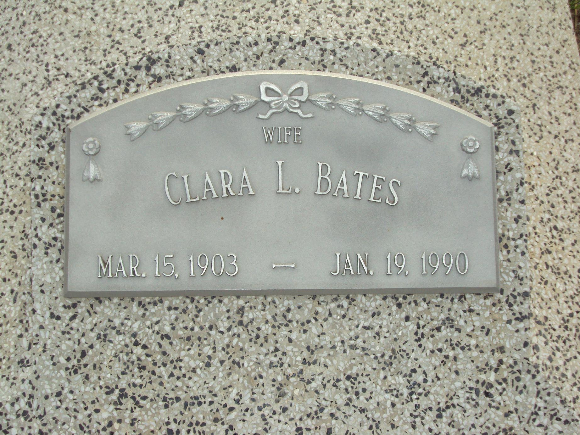 Clara Lovie <i>Massengill</i> Bates