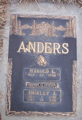 Shirley A Anders