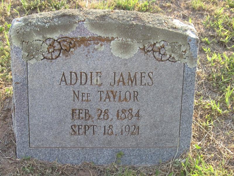 Addie <i>Taylor</i> James