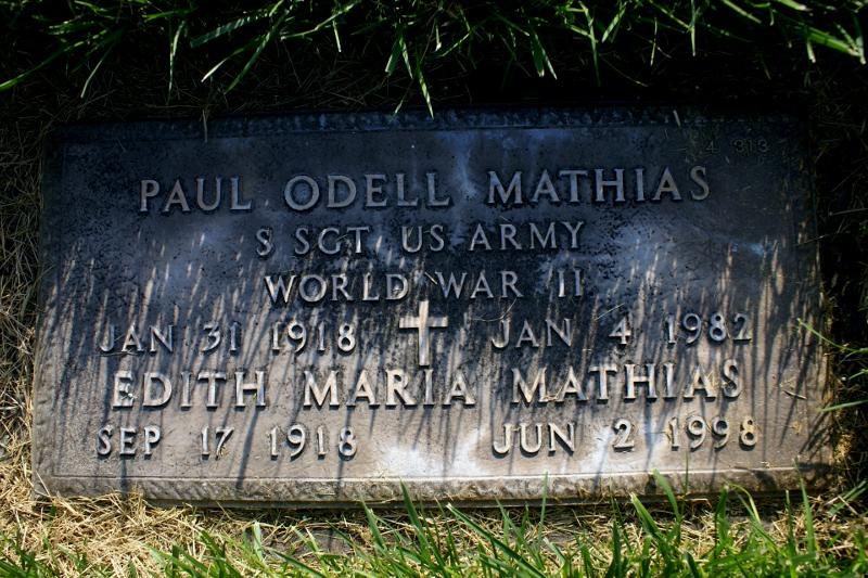 Edith Maria Mathias