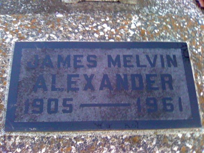 James Melvin Alexander