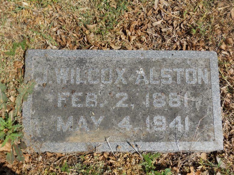 I. Wilcox Alston