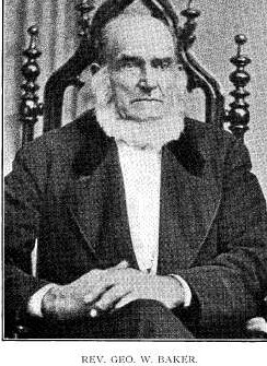 Rev George Washington Baker