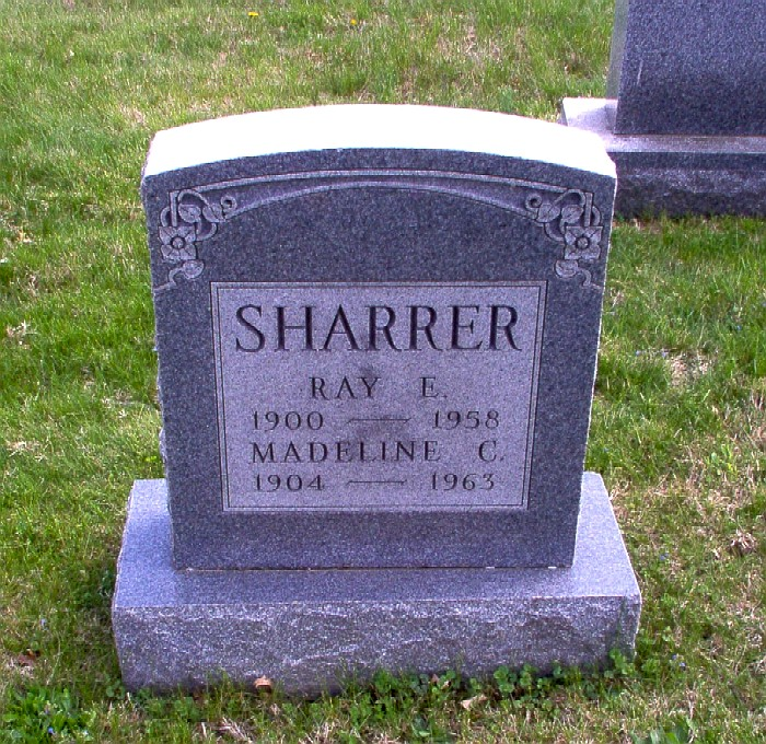 Clara Madoline Madeline <i>Huff</i> Sharrer
