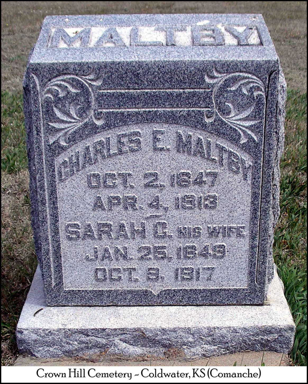 Sarah Cornelia <i>Adamson</i> Maltby