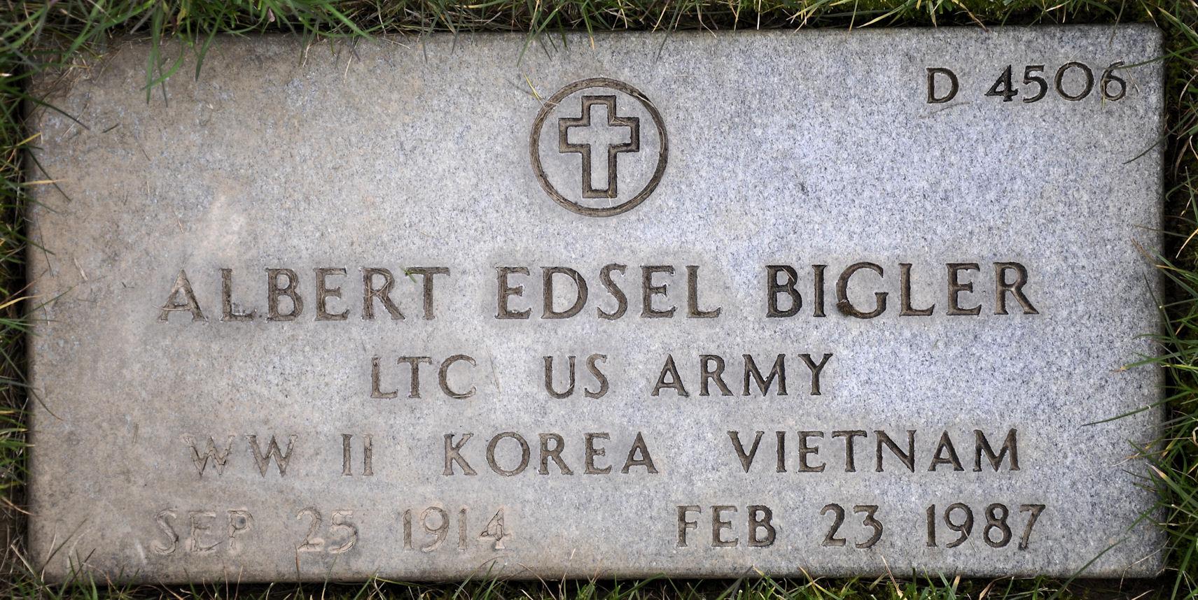 Albert Edsel Bigler