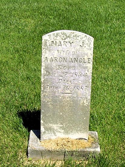 Mary Jane <i>Burnett</i> Angle