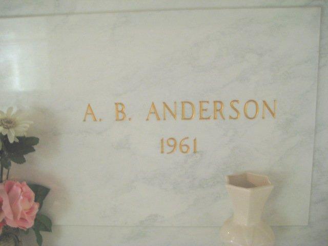 Alexander Benton Alex Anderson