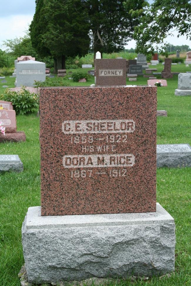 Dora Mabel Dodie <i>Rice</i> Sheelor