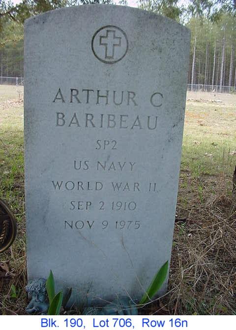 Arthur C Baribeau