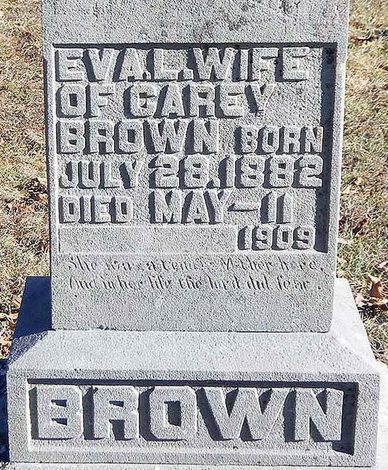 Eva Lucinda <i>Crum</i> Brown