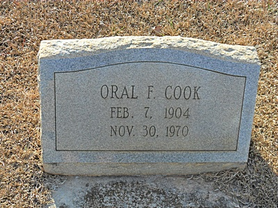 Oral F. Cook