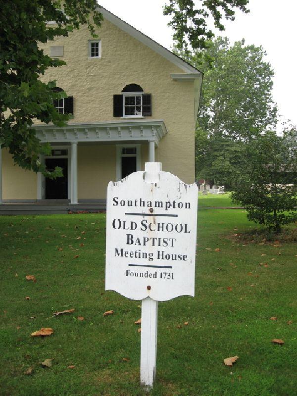 Old School Baptist Meeting House Cemetery