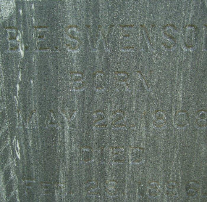 B E Swenson