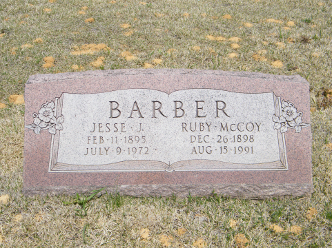 Ruby Alice <i>McCoy</i> Barber