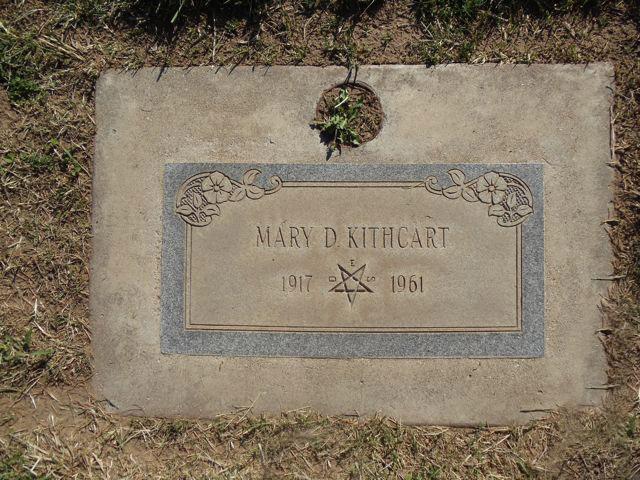 Mary D <i>Harding</i> Kithcart