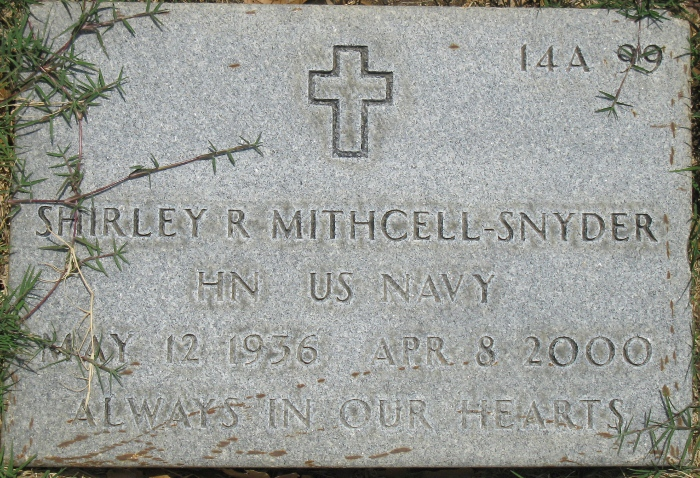 Shirley R <i>Mitchell</i> Snyder