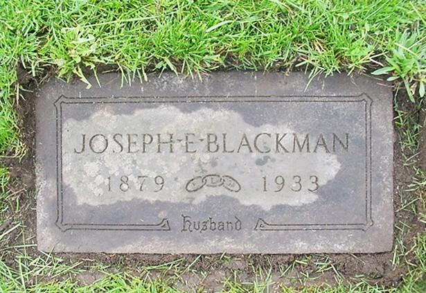 Joseph Edmund Blackman