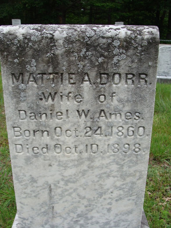 Mattie Ann <i>Dorr</i> Ames