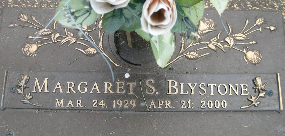 Margaret Peggy <i>Simon</i> Price Blystone