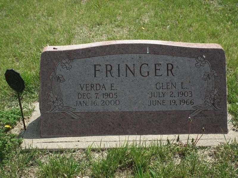 Verda E <i>Heaston</i> Fringer
