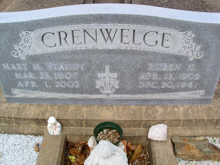 Mary M. <i>Staudt</i> Crenwelge