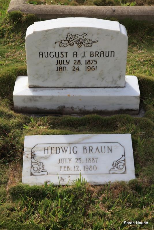 Hedwig <i>Gehrke</i> Braun