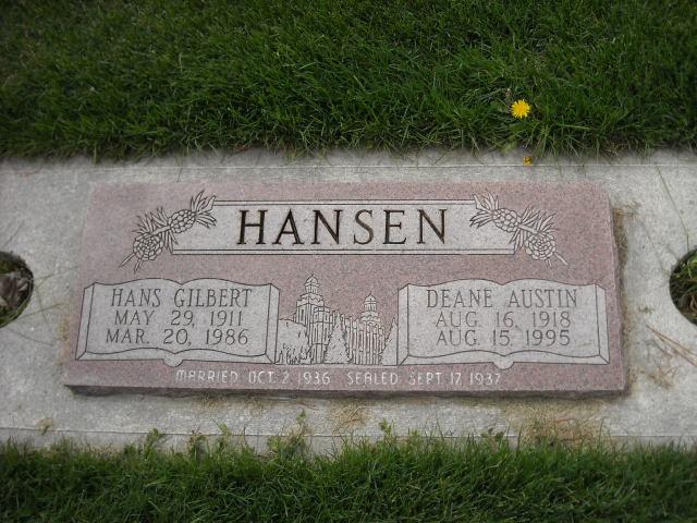 Deane <i>Austin</i> Hansen