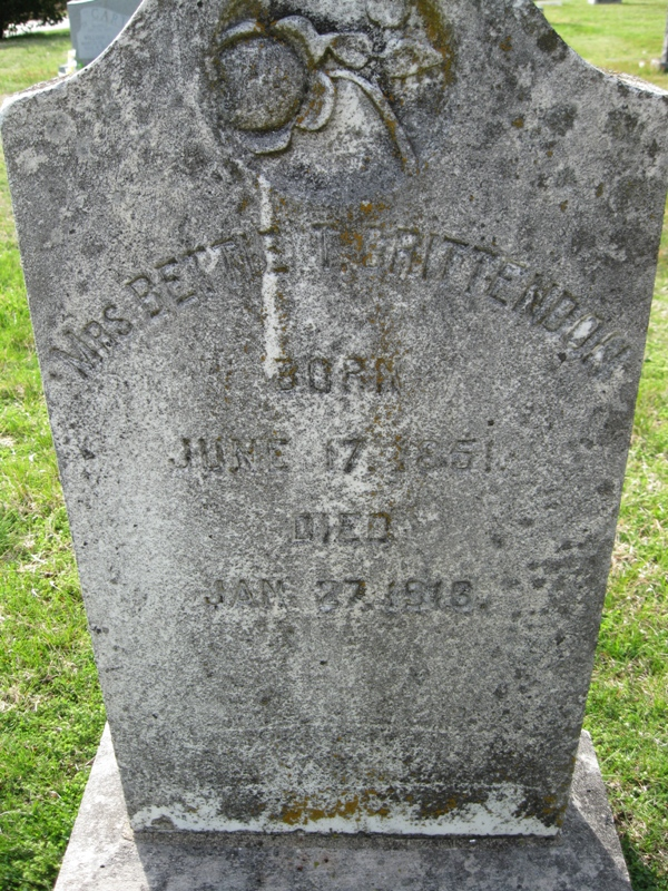 Bettie Temple <i>Phillips</i> Crittenden