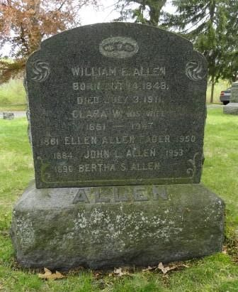 Clara W. <i>Skelton</i> Allen