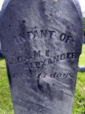 Infant Alexander