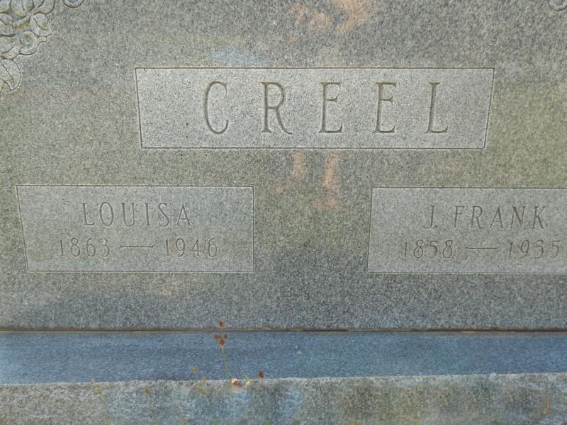 James Franklin Frank Creel