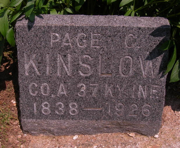 Page C. Kinslow