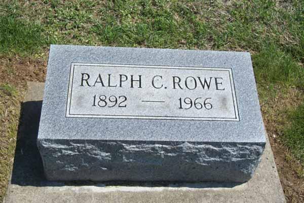 Ralph C Rowe
