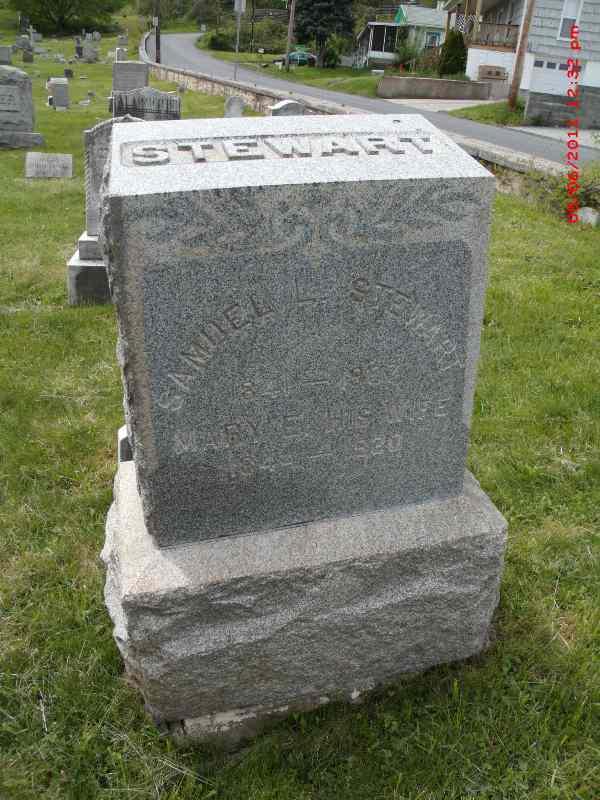 Mary Elizabeth Mamie <i>Albright</i> Stewart