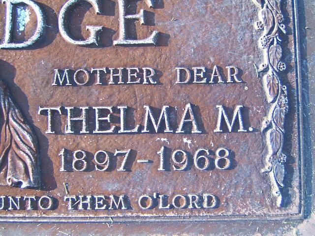 Thelma N <i>Marler</i> Elledge